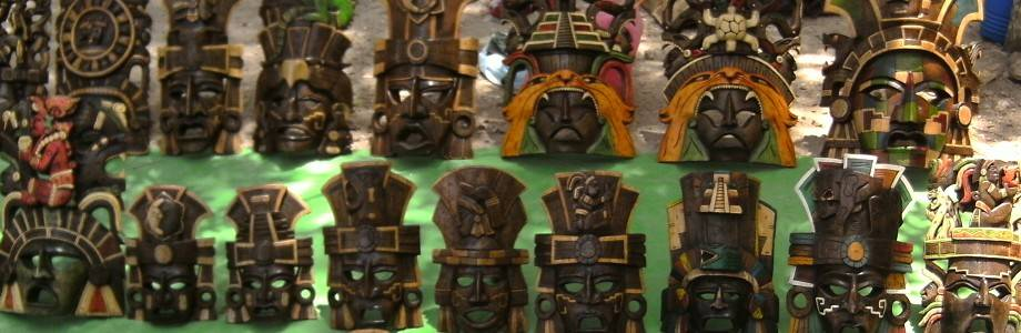 Mayas Masques Masques Mayas Chichen Itza