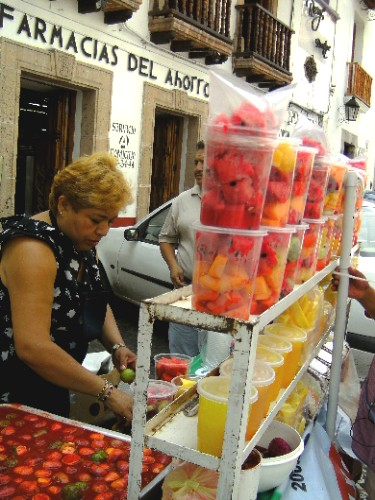 Salade de fruits Taxco