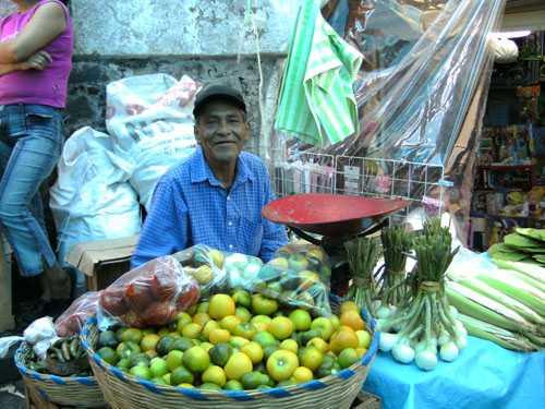 Vendeur de fruits Taxco